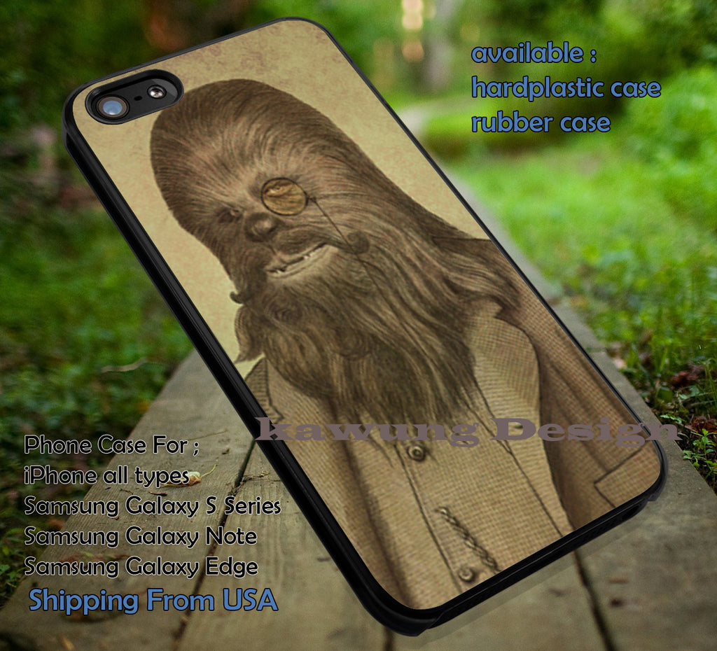 Chewbacca Retro Art iPhone 6s 6 6s+ 6plus Cases Samsung Galaxy s5 s6 Edge+ NOTE 5 4 3 #movie #starwars ii - Kawung Design  - 4