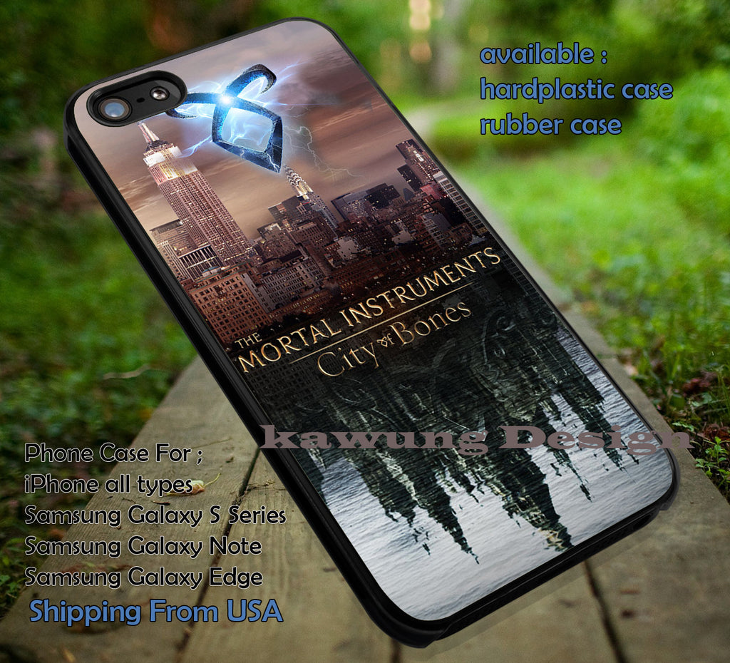 City of Bones Mortal Instrument iPhone 6s 6 6s+ 6plus Cases Samsung Galaxy s5 s6 Edge+ NOTE 5 4 3 #movie #TheMortalinstruments ii - Kawung Design  - 1