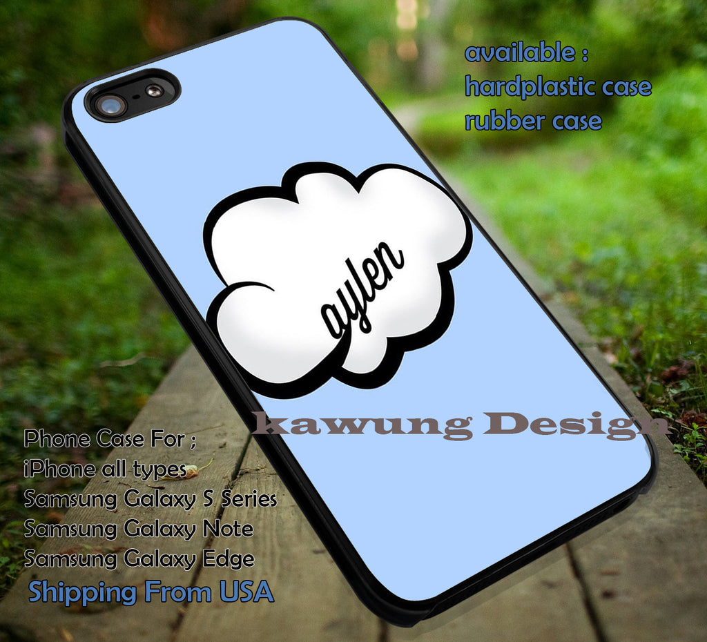 Cloud Caylen in The Sky | o2l | Our 2nd Life iPhone 6s 6 6s+ 6plus Cases Samsung Galaxy s5 s6 Edge+ NOTE 5 4 3 #music #o2l ii - Kawung Design  - 1