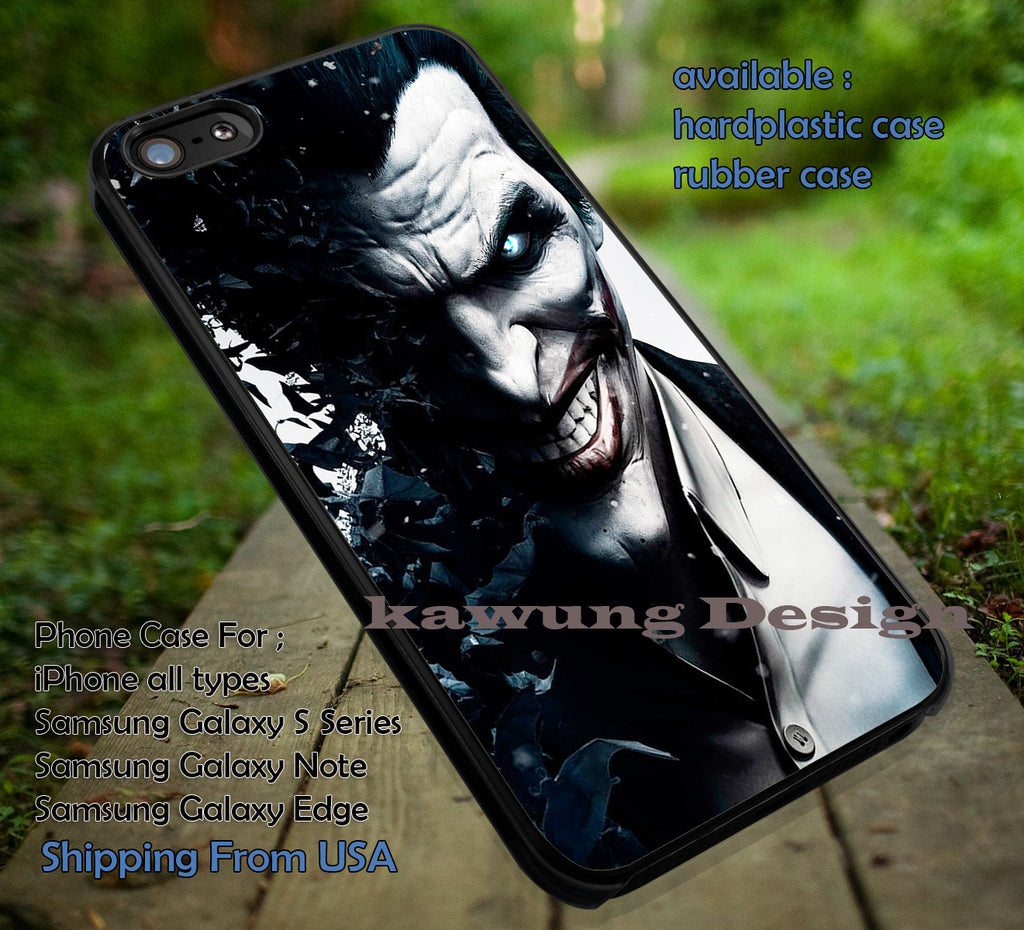 Clown  | Joker Batman | Arkham iphone6 6plus,harley quinn,superman iPhone 6s 6 6s+ 6plus Cases Samsung Galaxy s5 s6 Edge+ NOTE 5 4 3 #cartoon #batman #superheroes ii - Kawung Design  - 1