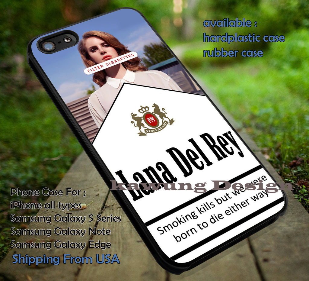 Color Cigarettes Lana Del Rey iPhone X 8+ 7 6s Cases Samsung Galaxy S8 S7 edge NOTE 8 5 4