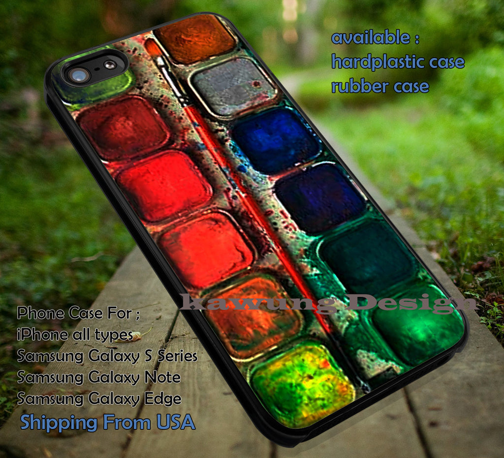 Color Palette Case iPhone 6s 6 6s+ 6plus Cases Samsung Galaxy s5 s6 Edge+ NOTE 5 4 3 #art ii - Kawung Design  - 1
