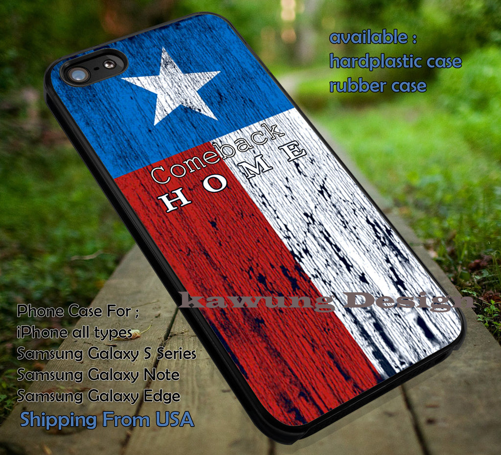 Comeback Home Texas Flag iPhone 6s 6 6s+ 6plus Cases Samsung Galaxy s5 s6 Edge+ NOTE 5 4 3 #art ii - Kawung Design  - 1