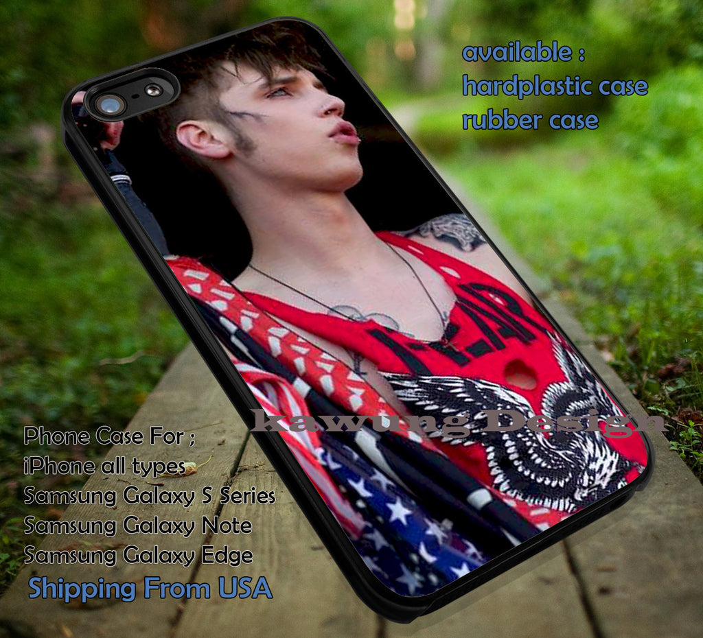 Cool andy, andy biersack, BVB, black veil brides, case/cover for iPhone 4/4s/5/5c/6/6+/6s/6s+ Samsung Galaxy S4/S5/S6/Edge/Edge+ NOTE 3/4/5 #music #bvb ii - Kawung Design  - 1