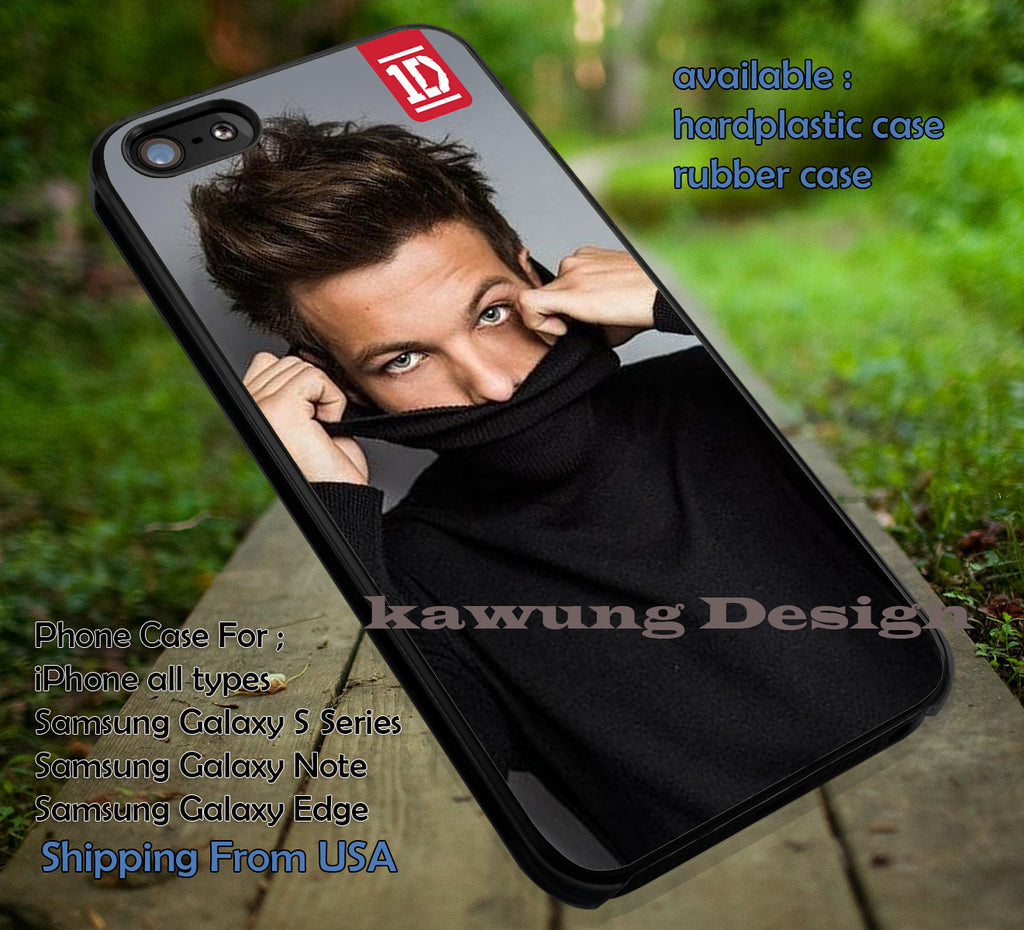 Cool boy,Louis Tomlinson,one direction,iphone6 6plus,5sos,harry styles,1D case/cover for iPhone 4/4s/5/5c/6/6+/6s/6s+ Samsung Galaxy S4/S5/S6/Edge/Edge+ NOTE 3/4/5 #music #1d ii - Kawung Design  - 1