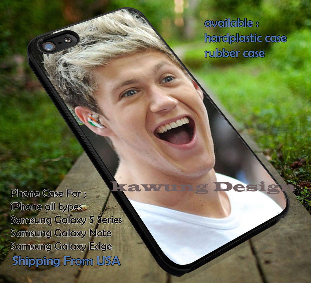 Cool Niall Horan laugh,One Direction,1D,tattoo,5sos,cute,handsome case/cover for iPhone 4/4s/5/5c/6/6+/6s/6s+ Samsung Galaxy S4/S5/S6/Edge/Edge+ NOTE 3/4/5 #music #1d ii - Kawung Design  - 1