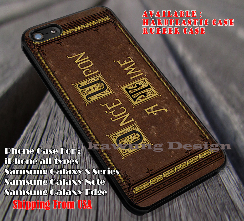 Once Upon a Time Book Vintage iPhone X 8+ 7 6s Cases Samsung Galaxy S8 S7 edge NOTE 8 5 4