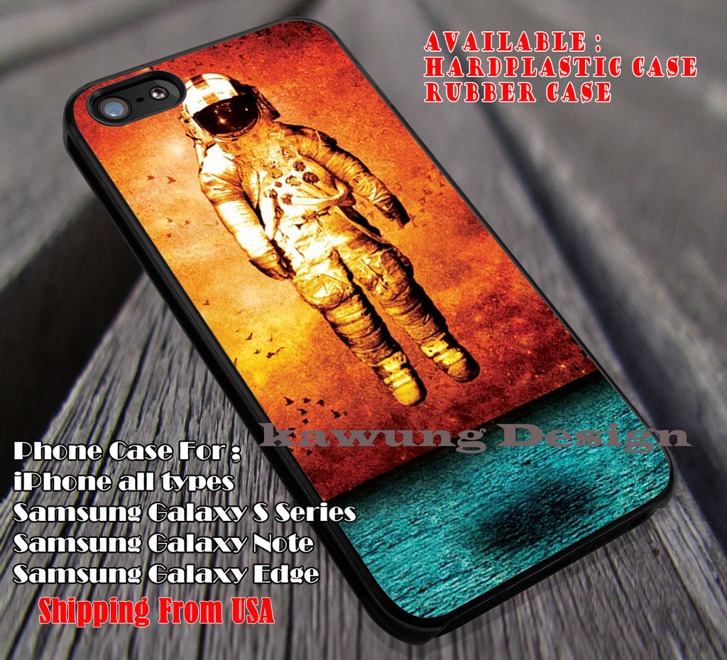 Cover album astronaut, the 1975, case/cover for iPhone 4/4s/5/5c/6/6+/6s/6s+ Samsung Galaxy S4/S5/S6/Edge/Edge+ NOTE 3/4/5 #music #1975 ii - Kawung Design  - 1