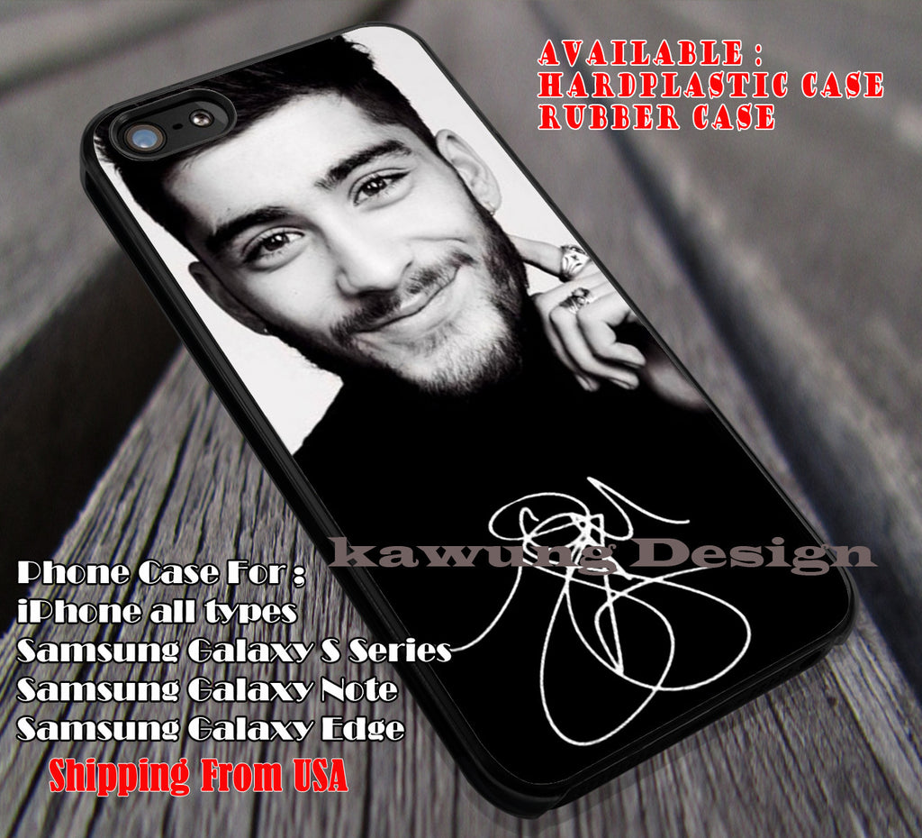 Cute black and white,Zayn Malik,one direction,signature case/cover for iPhone 4/4s/5/5c/6/6+/6s/6s+ Samsung Galaxy S4/S5/S6/Edge/Edge+ NOTE 3/4/5 #music #1d ii - Kawung Design  - 1