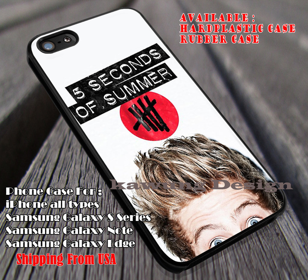 Cute hemmings, luke hemmings, the eyes, cute, band, 5 Second of Summer, case/cover for iPhone 4/4s/5/5c/6/6+/6s/6s+ Samsung Galaxy S4/S5/S6/Edge/Edge+ NOTE 3/4/5 #music #5sos ii - Kawung Design  - 1