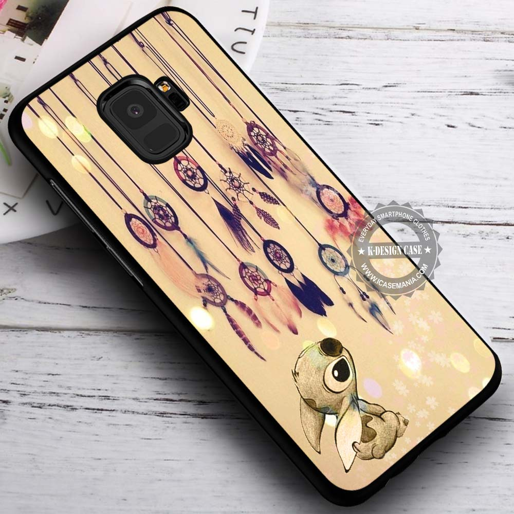 Cute Looking Up Stitch Dreamcatcher Samsung Galaxy S9 Case