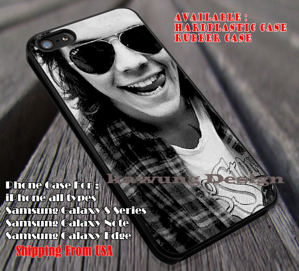 Cute selfie styles in sunglass,Harry Styles,One Direction,rollingstone shirt,niall horan 1D case/cover for iPhone 4/4s/5/5c/6/6+/6s/6s+ Samsung Galaxy S4/S5/S6/Edge/Edge+ NOTE 3/4/5 #music #1d ii - Kawung Design  - 1