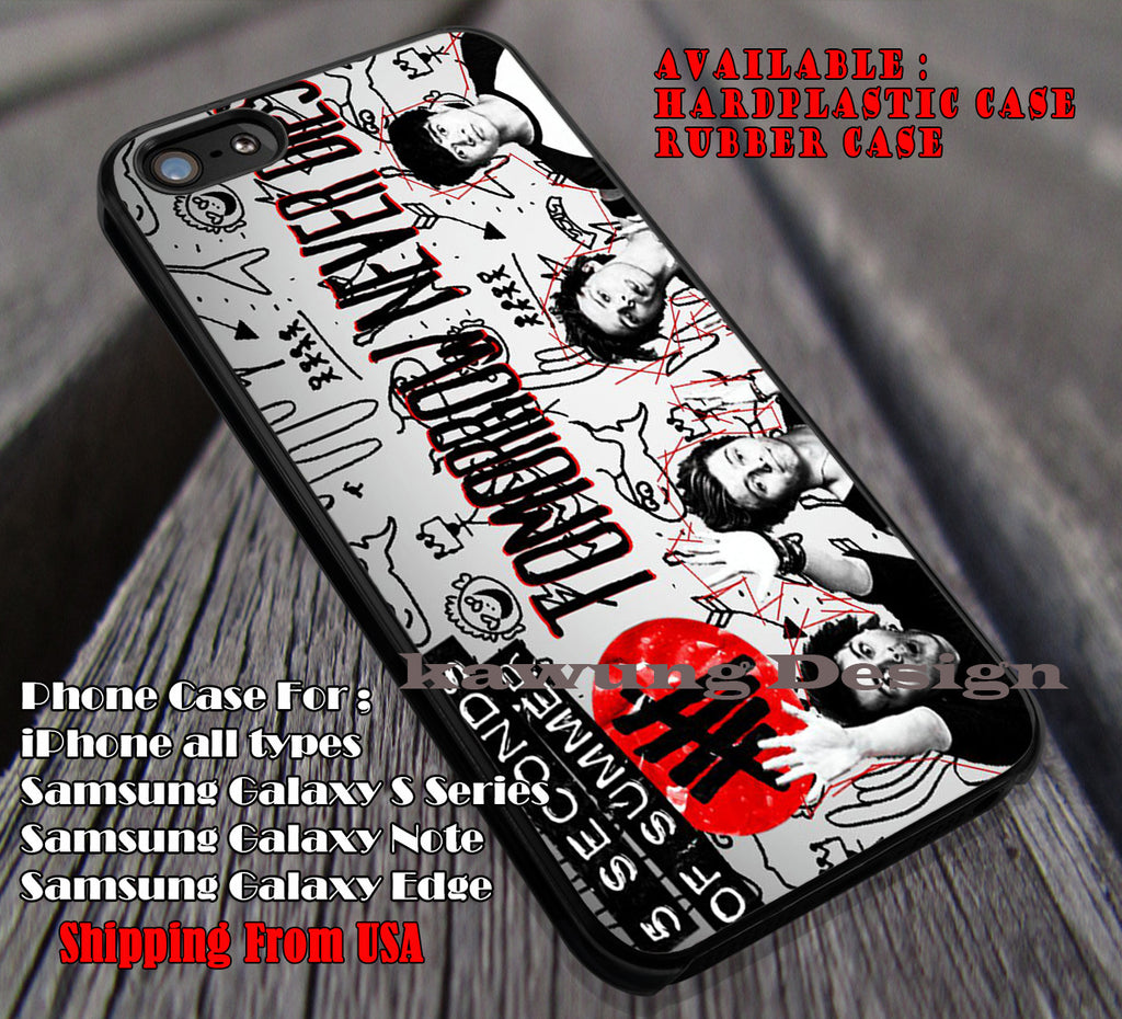 Doodle art wall band, tommorow never dies, luke ashr, 5 Second of Summer, case/cover for iPhone 4/4s/5/5c/6/6+/6s/6s+ Samsung Galaxy S4/S5/S6/Edge/Edge+ NOTE 3/4/5 #music #5sos ii - Kawung Design  - 1