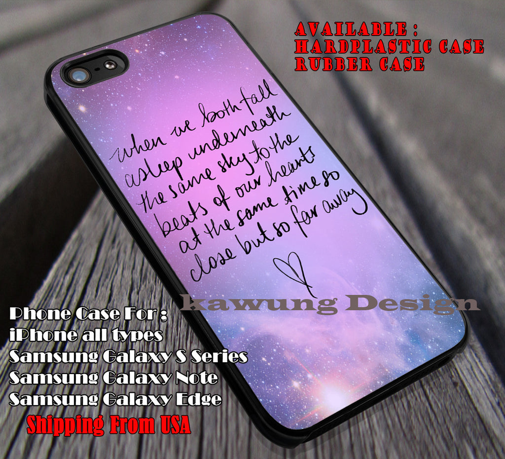 Far away, 5sos, heartbreak, 5 Second of Summer, case/cover for iPhone 4/4s/5/5c/6/6+/6s/6s+ Samsung Galaxy S4/S5/S6/Edge/Edge+ NOTE 3/4/5 #music #5sos ii - Kawung Design  - 1