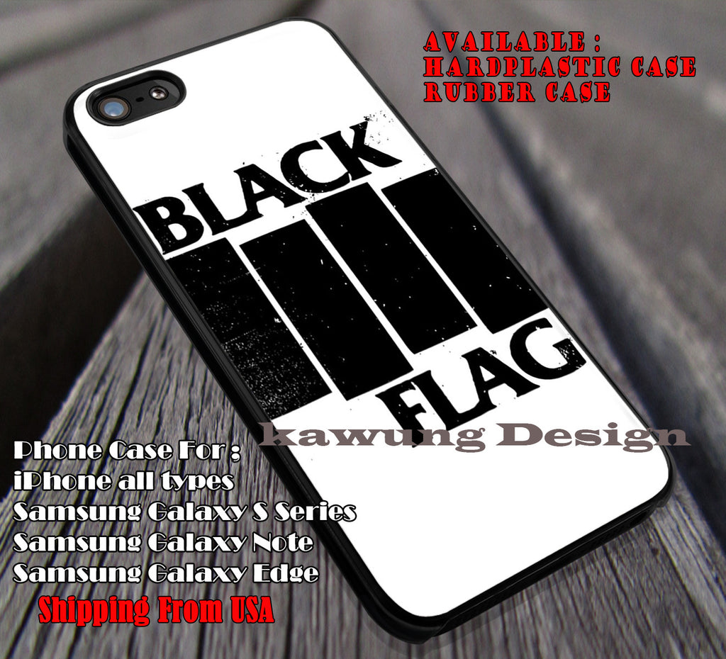 Band Black Flag iPhone 8+ 7 6s Cases Samsung Galaxy S8 S7 edge NOTE 8 5 4
