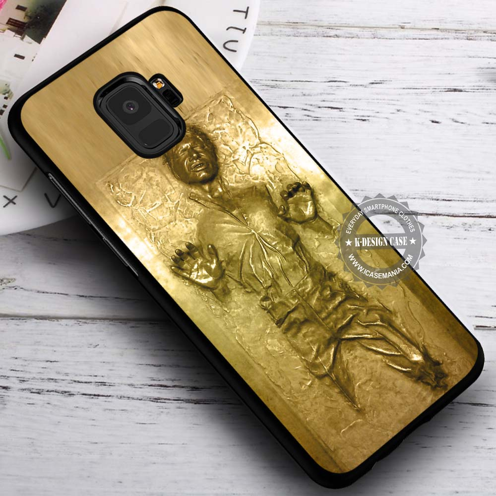 Golden Carbonited Man Star Wars Han Solo Samsung Galaxy S9 Case