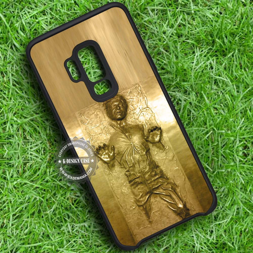 Golden Carbonited Man Star Wars Han Solo Samsung Galaxy S9 Plus Case