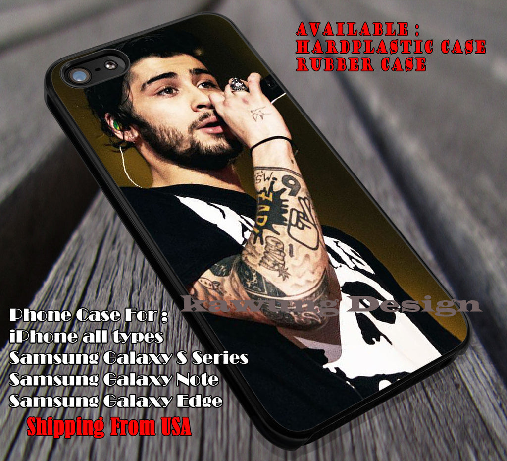 Handsome singing,Zayn Malik,one direction,1D,5sos,the 1975 case/cover for iPhone 4/4s/5/5c/6/6+/6s/6s+ Samsung Galaxy S4/S5/S6/Edge/Edge+ NOTE 3/4/5 #music #1d ii - Kawung Design  - 1
