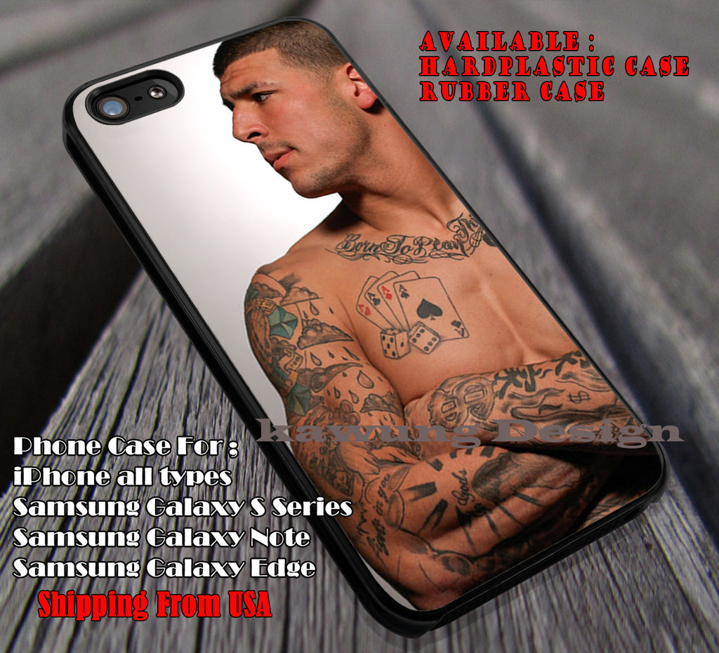 Aaron Hernandez and His Tattoo iPhone 6s 6 6s+ 6plus Cases Samsung Galaxy s5 s6 Edge+ NOTE 5 4 3 #sport ii - Kawung Design  - 1