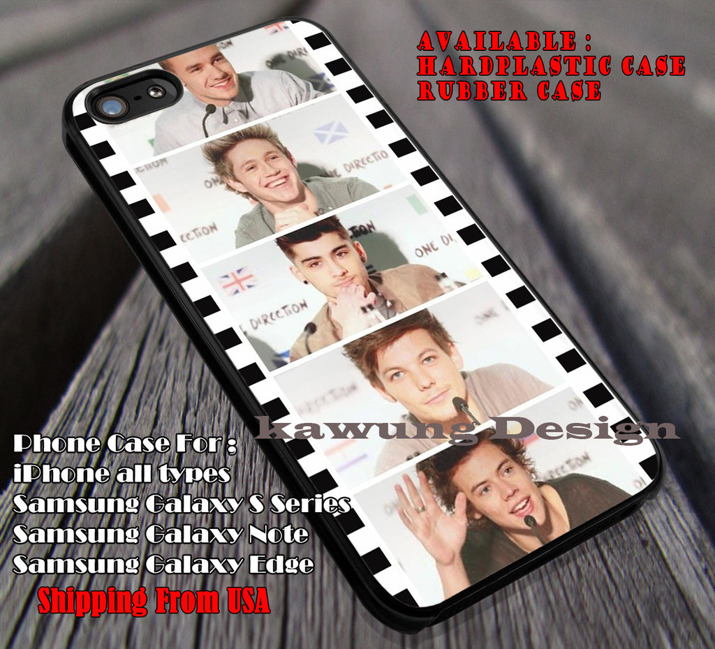1D roll photograph,one direction,idol,music group,1D cases/covers for iPhone 4/4s/5/5c/6/6+/6s/6s+ Samsung Galaxy S4/S5/S6/Edge/Edge+ NOTE 3/4/5 #music #1d ii - K-Designs