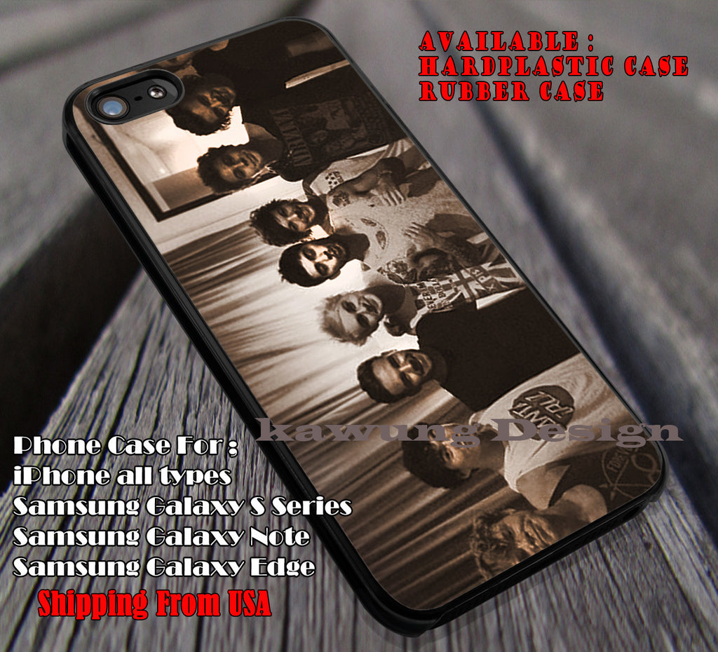 In-5sos&1D together, One Direction, 1D, 5 sos, 5 Second of Summer, case/cover for iPhone 4/4s/5/5c/6/6+/6s/6s+ Samsung Galaxy S4/S5/S6/Edge/Edge+ NOTE 3/4/5 #music #5sos #1D ii - Kawung Design  - 1