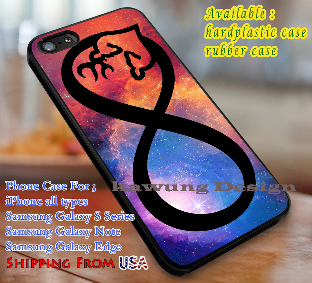 infinity love browning deer, infinity, love, case/cover for iPhone 4/4s/5/5c/6/6+/6s/6s+ Samsung Galaxy S4/S5/S6/Edge/Edge+ NOTE 3/4/5 #cartoon #anime dl1 - Kawung Design  - 1