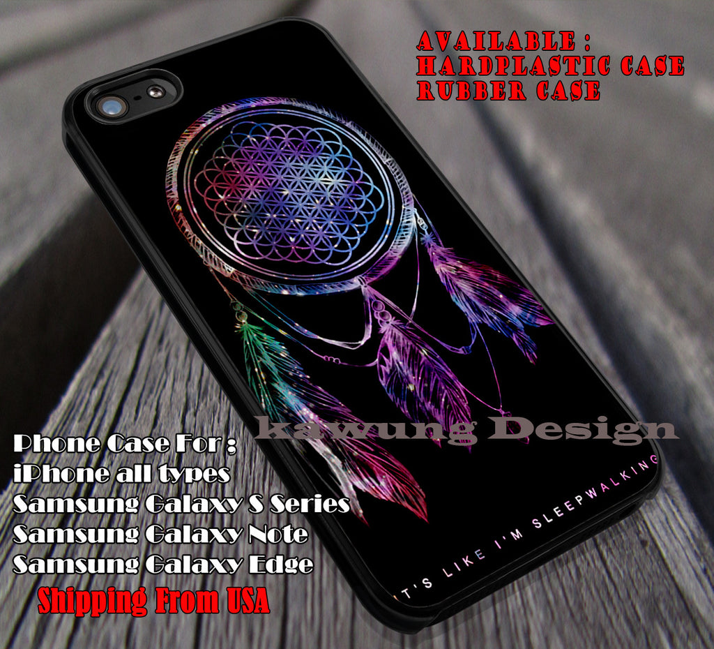 BMTH Dreamcatcher Quote iPhone X 8+ 7 6s Cases Samsung Galaxy S8 S7 edge NOTE 8 5 4