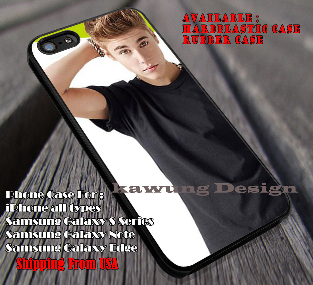 Justin bieber, JB, justin bieber, case/cover for iPhone 4/4s/5/5c/6/6+/6s/6s+ Samsung Galaxy S4/S5/S6/Edge/Edge+ NOTE 3/4/5 #music #jb ii - Kawung Design  - 1