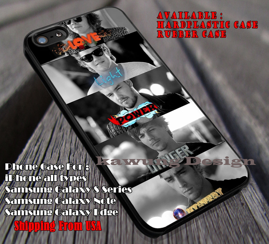 Love light power,one direction,harry styles,niall horan,zayn malik,liam payne,louis tomlinson cases/covers for iPhone 4/4s/5/5c/6/6+/6s/6s+ Samsung Galaxy S4/S5/S6/Edge/Edge+ NOTE 3/4/5 #music #1d ii - Kawung Design  - 1