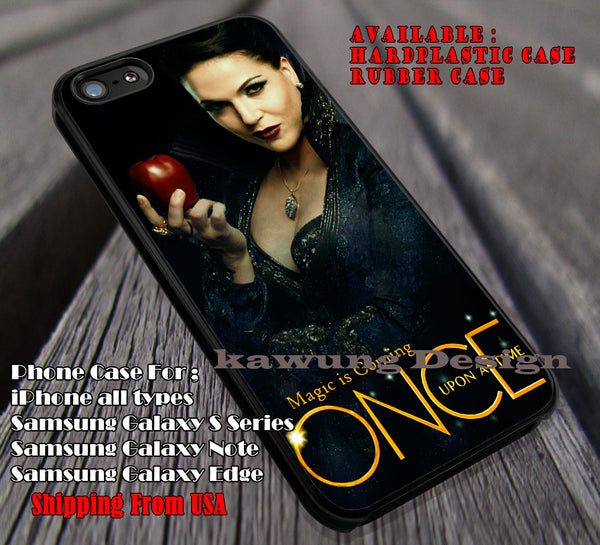 Magic is Coming | Evil Queen | Once Upon a Time iPhone 6s 6 6s+ 6plus Cases Samsung Galaxy s5 s6 Edge+ NOTE 5 4 3 #movie #cartoon #disney #animated #onceuponatime ii - Kawung Design  - 1