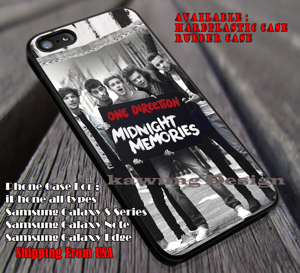 Memories, midnight memories, niall horan, 1D, one direction, case/cover for iPhone 4/4s/5/5c/6/6+/6s/6s+ Samsung Galaxy S4/S5/S6/Edge/Edge+ NOTE 3/4/5 #music #1d ii - Kawung Design  - 1
