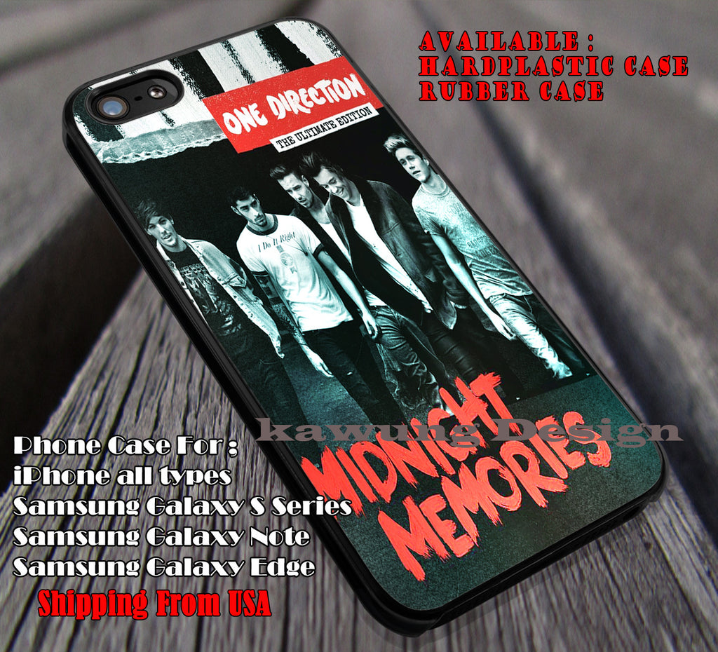Memories,  1D, one direction, case/cover for iPhone 4/4s/5/5c/6/6+/6s/6s+ Samsung Galaxy S4/S5/S6/Edge/Edge+ NOTE 3/4/5 #music #1d ii - Kawung Design  - 1
