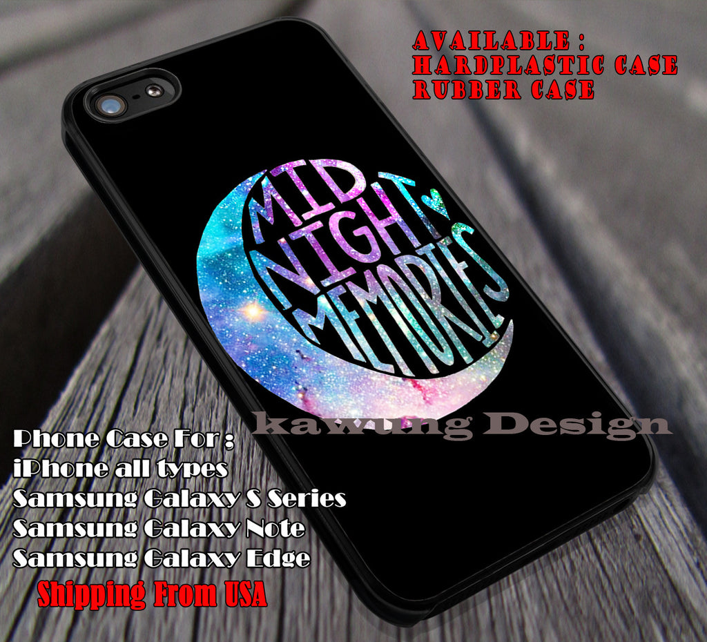 Midnight memories,one direction,1D, songs,album cases/covers for iPhone 4/4s/5/5c/6/6+/6s/6s+ Samsung Galaxy S4/S5/S6/Edge/Edge+ NOTE 3/4/5 #music #1d ii - Kawung Design  - 1