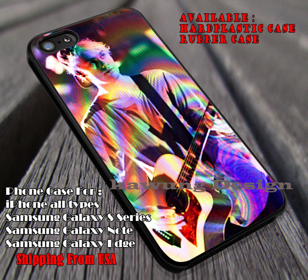 Psyhedelic color mikey, michael clifford, 5sos, 5 Second of Summer, case/cover for iPhone 4/4s/5/5c/6/6+/6s/6s+ Samsung Galaxy S4/S5/S6/Edge/Edge+ NOTE 3/4/5 #music #5sos ii - Kawung Design  - 1