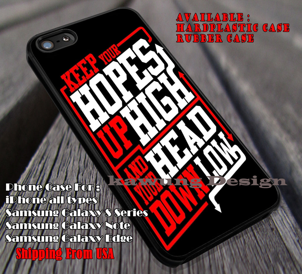 Quote, A Day To Remember, band, white, red, case/cover for iPhone 4/4s/5/5c/6/6+/6s/6s+ Samsung Galaxy S4/S5/S6/Edge/Edge+ NOTE 3/4/5 #music #adtr ii - Kawung Design  - 1
