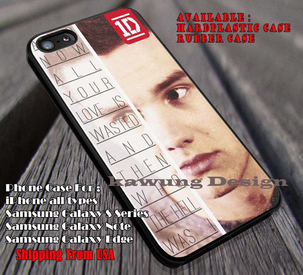 Quotes all your love,Liam Payne,One Direction,1D logo, #quote cases/covers for iPhone 4/4s/5/5c/6/6+/6s/6s+ Samsung Galaxy S4/S5/S6/Edge/Edge+ NOTE 3/4/5 #music #1d ii - Kawung Design  - 1