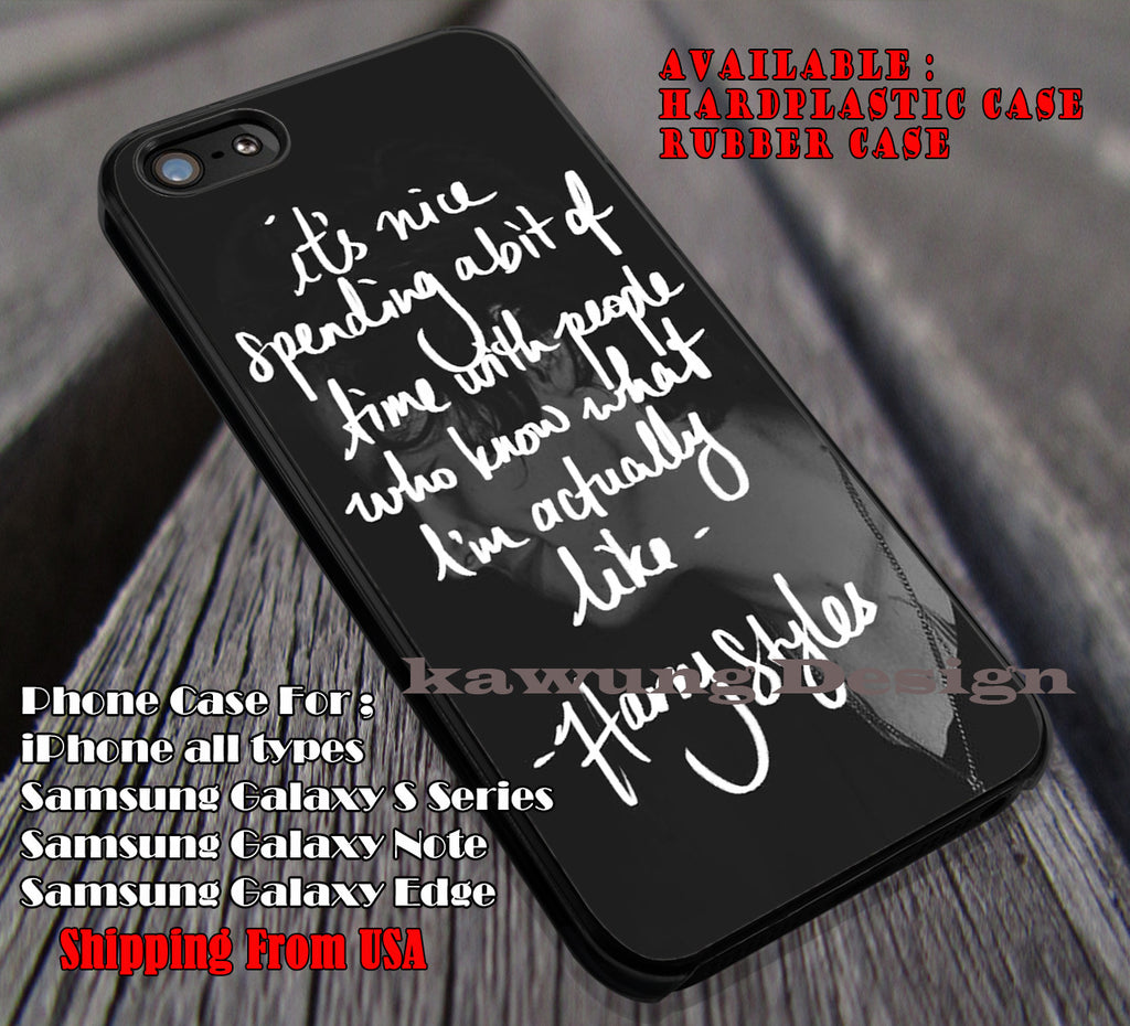 Quotes of styles,Harry Styles,One Direction,1D,harry quote cases/covers for iPhone 4/4s/5/5c/6/6+/6s/6s+ Samsung Galaxy S4/S5/S6/Edge/Edge+ NOTE 3/4/5 #music #1d ii - Kawung Design  - 1