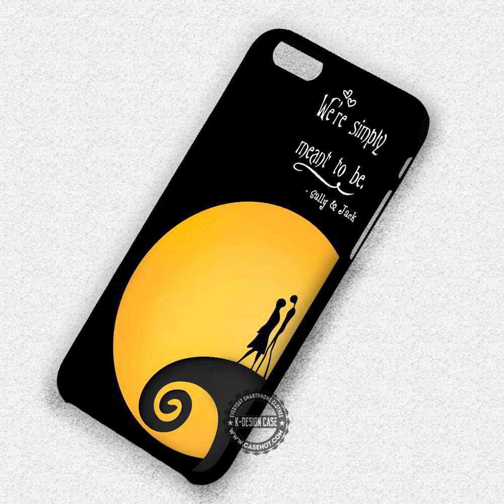 Sally and Jack Quotes Nightmare Before Christmas - iPhone 7 6 Plus ...