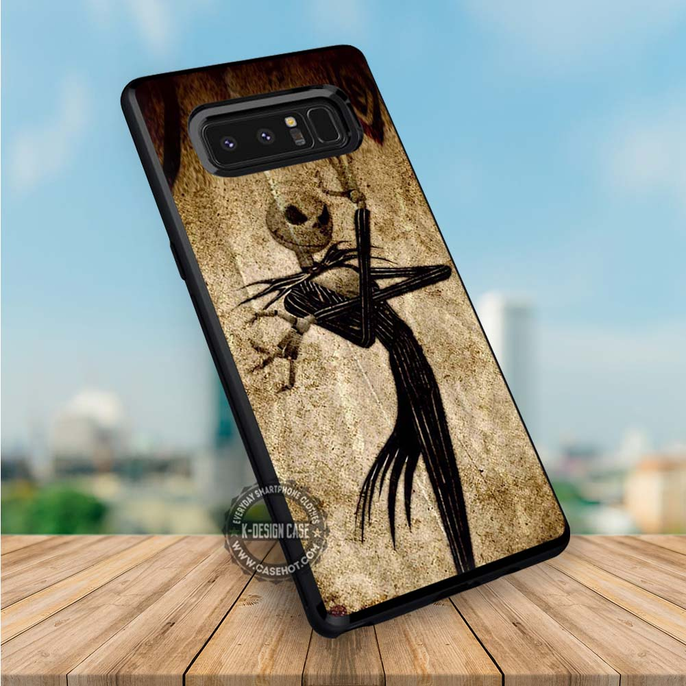 Jack Skellington The Nightmare Before Christmas Samsung Galaxy NOTE 8 Case