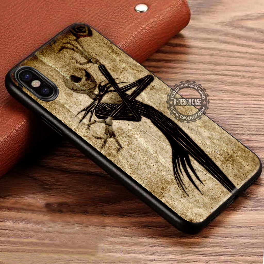 Jack Skellington The Nightmare Before Christmas iPhone X Case