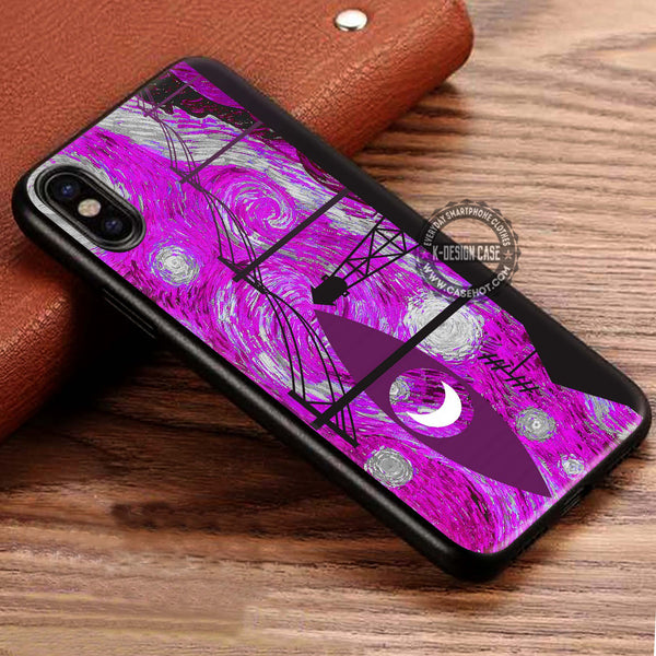 Starry Night Welcome To Night Vale iPhone X Case