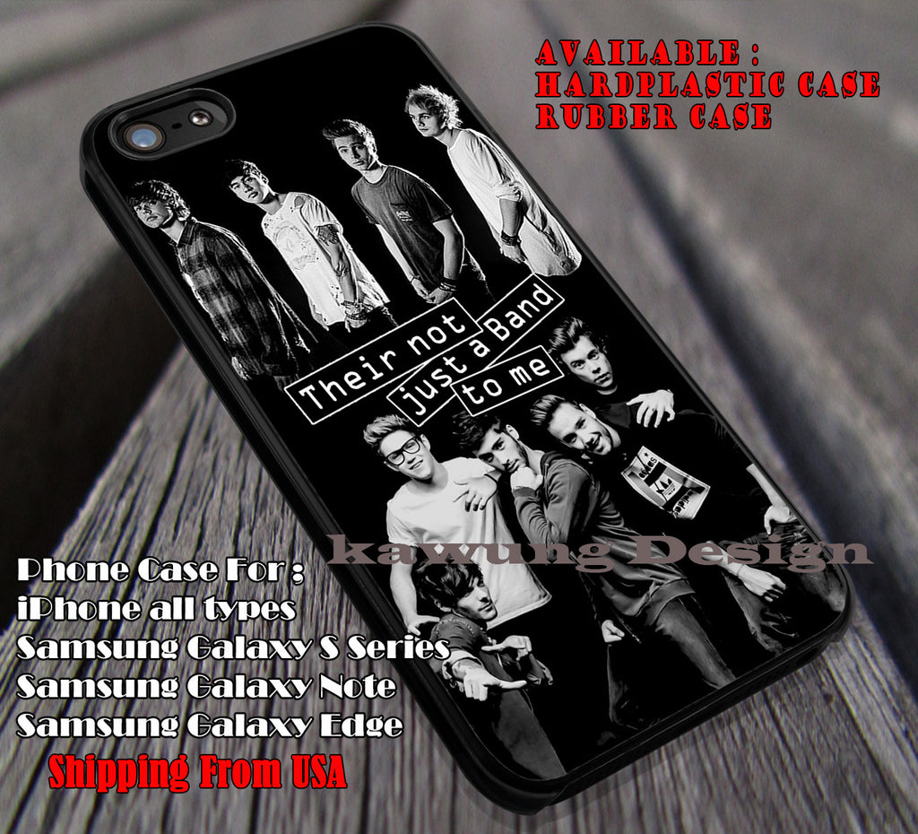 Black White Art 1D 5sos iPhone 5 5c 6 6+ 6s 6s+ Cases Samsung Galaxy S4/S5/S6/Edge/Edge+ NOTE 3/4/5 #music #5sos #1D ii - Kawung Design  - 1