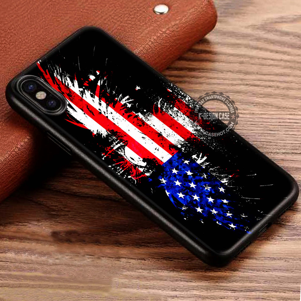 Vintage American Flag Wallpaper Iphone X 8 7 Plus 6s Cases Samsung