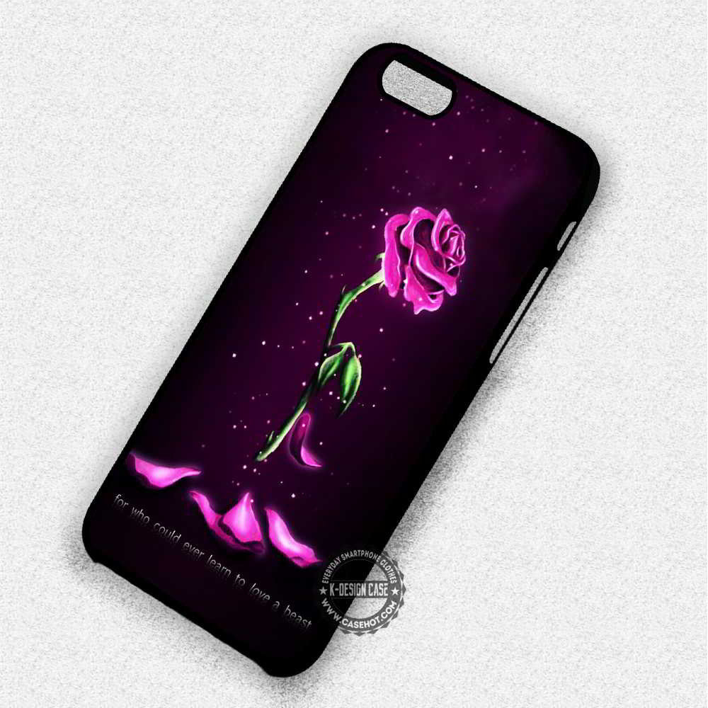 Withered Rose Glass Beauty And The Beast Quote Iphone 7 Plus 6 5 4