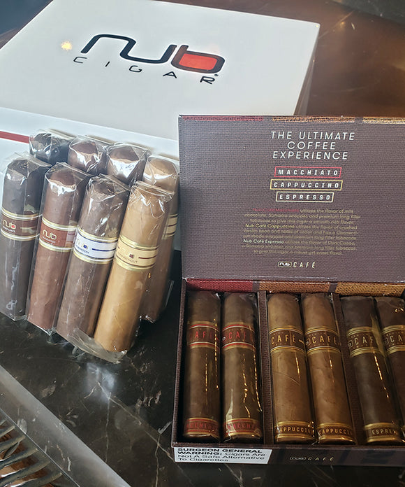 Nub 14 Cigar Sampler with FREE Nub Humidor