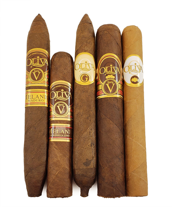 Oliva Top Cigars Unofficial Sampler 5-Pack