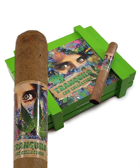 The House of Lucky Cigar - Tranquilo CBD Toro
