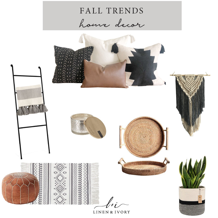 Fall Trends- Home Decor