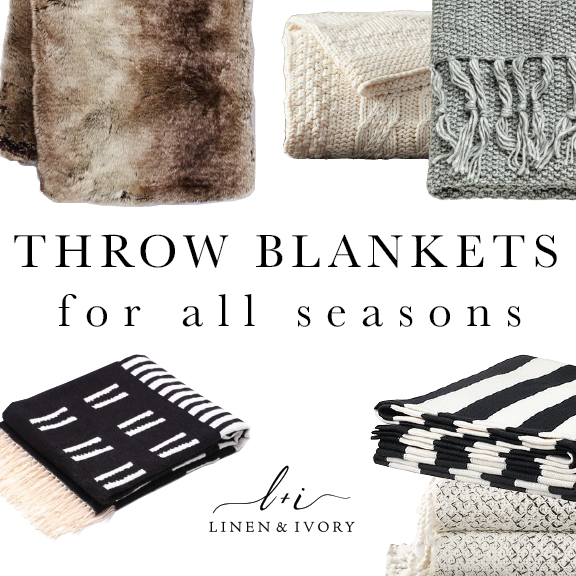 Throw Blankets for All Seasons