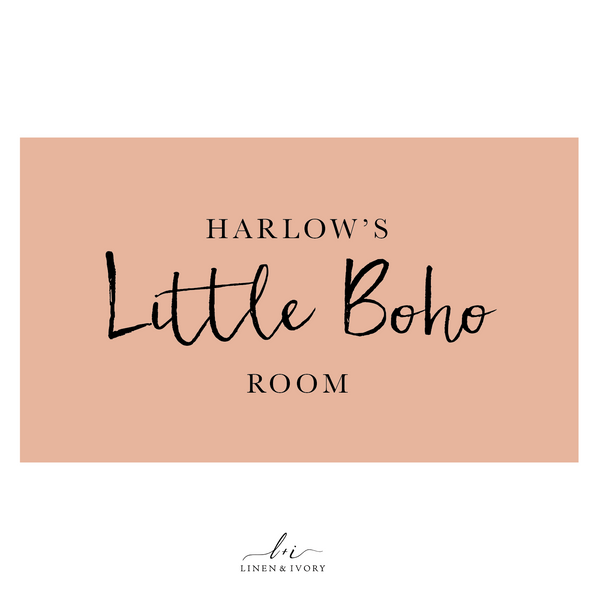Harlow's Room: Modern & Playful